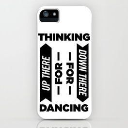 up there iPhone Case