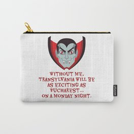 Transylvania without Dracula - Love at First Bite Carry-All Pouch
