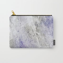 Blue Gray Abstract Carry-All Pouch
