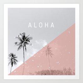 Island vibes - Aloha Art Print