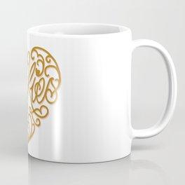 Cookies, cute heart shaped calligraphy Coffee Mug