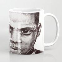 jay z Mugs featuring Jay by dan,