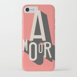 Amour iPhone Case