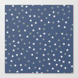 Stars Pattern 5 Canvas Print