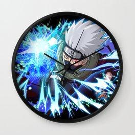 Kakashi Chidori Wall Clock