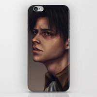 levi iPhone & iPod Skins featuring Levi Ackerman by trixdraws