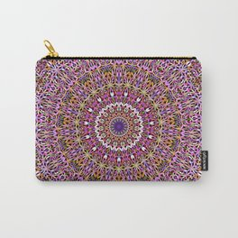 Colorful Spiritual Garden Mandala Carry-All Pouch