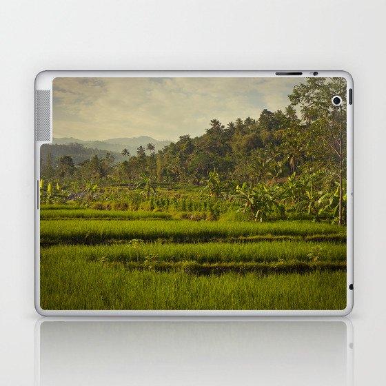 Balapusuh Village Rice Paddies Laptop & iPad Skin