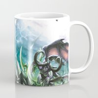 warcraft Mugs featuring Apocalypse by Steuer Catherine