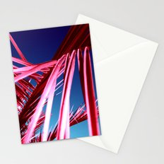 red palm leaf VII Stationery Cards