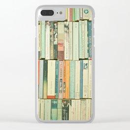 Bookworm II Clear iPhone Case