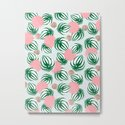 Watermelon Peperomia Pattern by cafelab