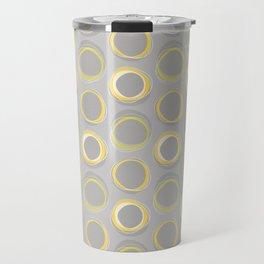 Solar Eclipse MCM Gray-Yellow Travel Mug
