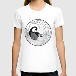 Black Swan and Moonlark T-shirt