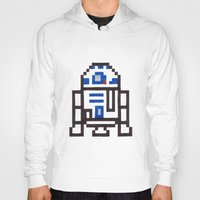 r2d2 Hoodies featuring r2d2 by Walter Melon