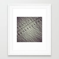 leather Framed Art Prints featuring :: leather :: by Nico Vincentini