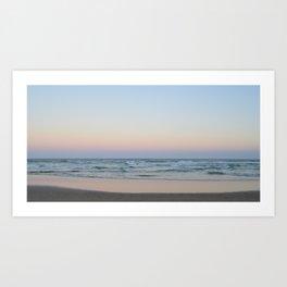 Natural Australian Sunset Art Print