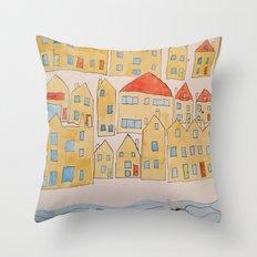 this town Throw Pillow