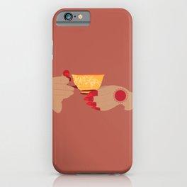 Chai with Paro (Tan) iPhone Case