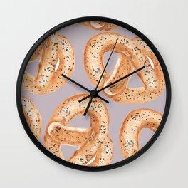 German Cedar Wall Clock
