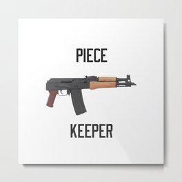 Draco AK 47 Piece Keeper Metal Print