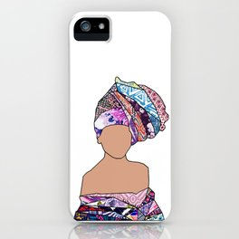 Woman of New Orleans - Carondelet iPhone Case
