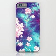 Space Flowers iPhone 6s Slim Case