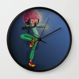 La fille de la paix  Wall Clock