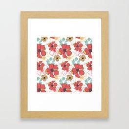 Poppy Bash 1 Framed Art Print