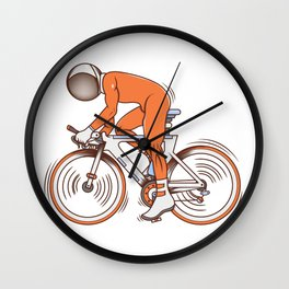 All I wanna do is bicycle Wall Clock