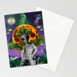 ALIENDICK Stationery Cards