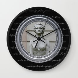 Paris 2 by Lika Ramati Wall Clock