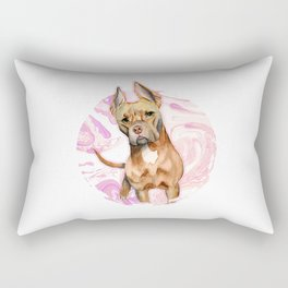 Bunny Ears 3 Rectangular Pillow