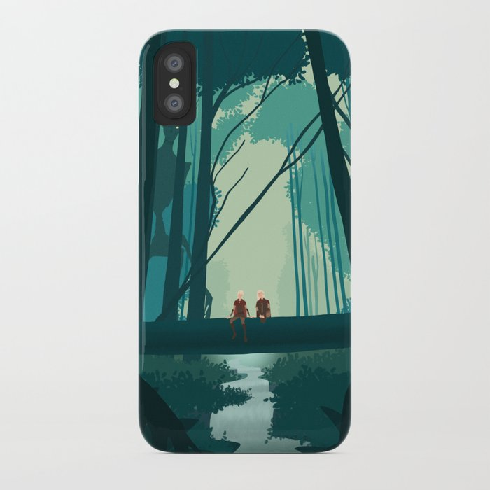 peace before the storm iPhone Case