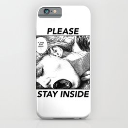asc 952 - Les intimes #3 (Please stay inside #3) iPhone Case