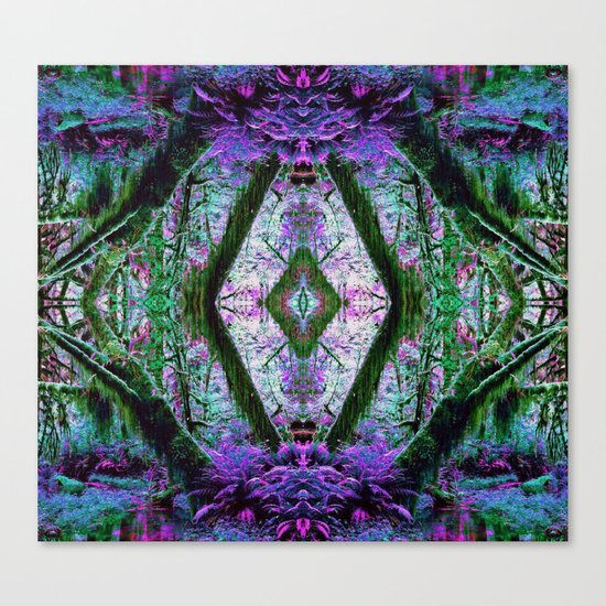 Fae Forest Canvas Print