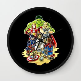 Save The World Mission Wall Clock