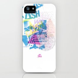 Cash Silk 001 iPhone Case