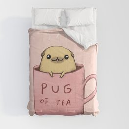 Pug of Tea Comforters