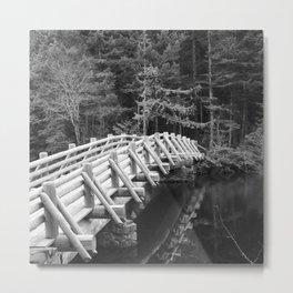 Lagoon Bridge Metal Print