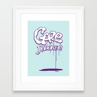 gore Framed Art Prints featuring Gore j'adore by Iksoner