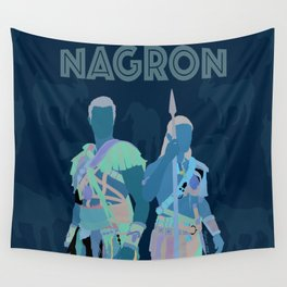 Nagron Goat Farm (Spartacus) Wall Tapestry