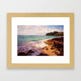 Playa Caliente Framed Art Print