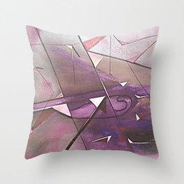 EL CRISTAL CONCLAVE Throw Pillow