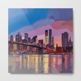 NEW YORK01 Metal Print