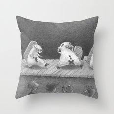 Hot Dam Throw Pillow