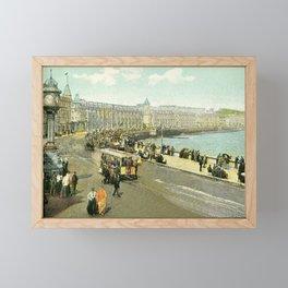 Victorian Douglas Isle of Man Loch Promenade Framed Mini Art Print