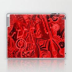Red Hot Music Laptop & iPad Skin