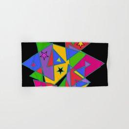 Triangles colourful Hand & Bath Towel