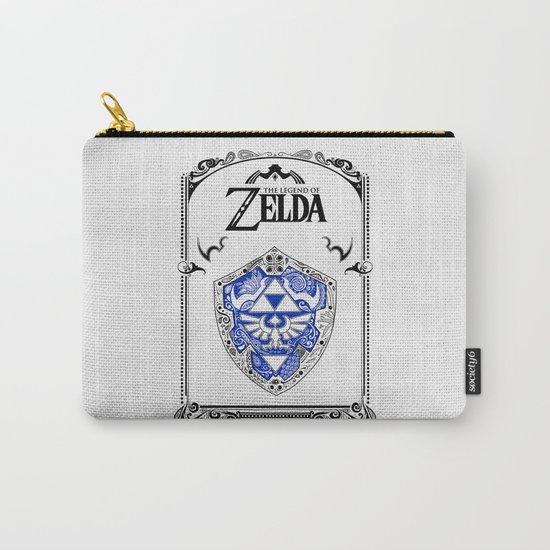 Zelda legend - Hylian shield Carry-All Pouch